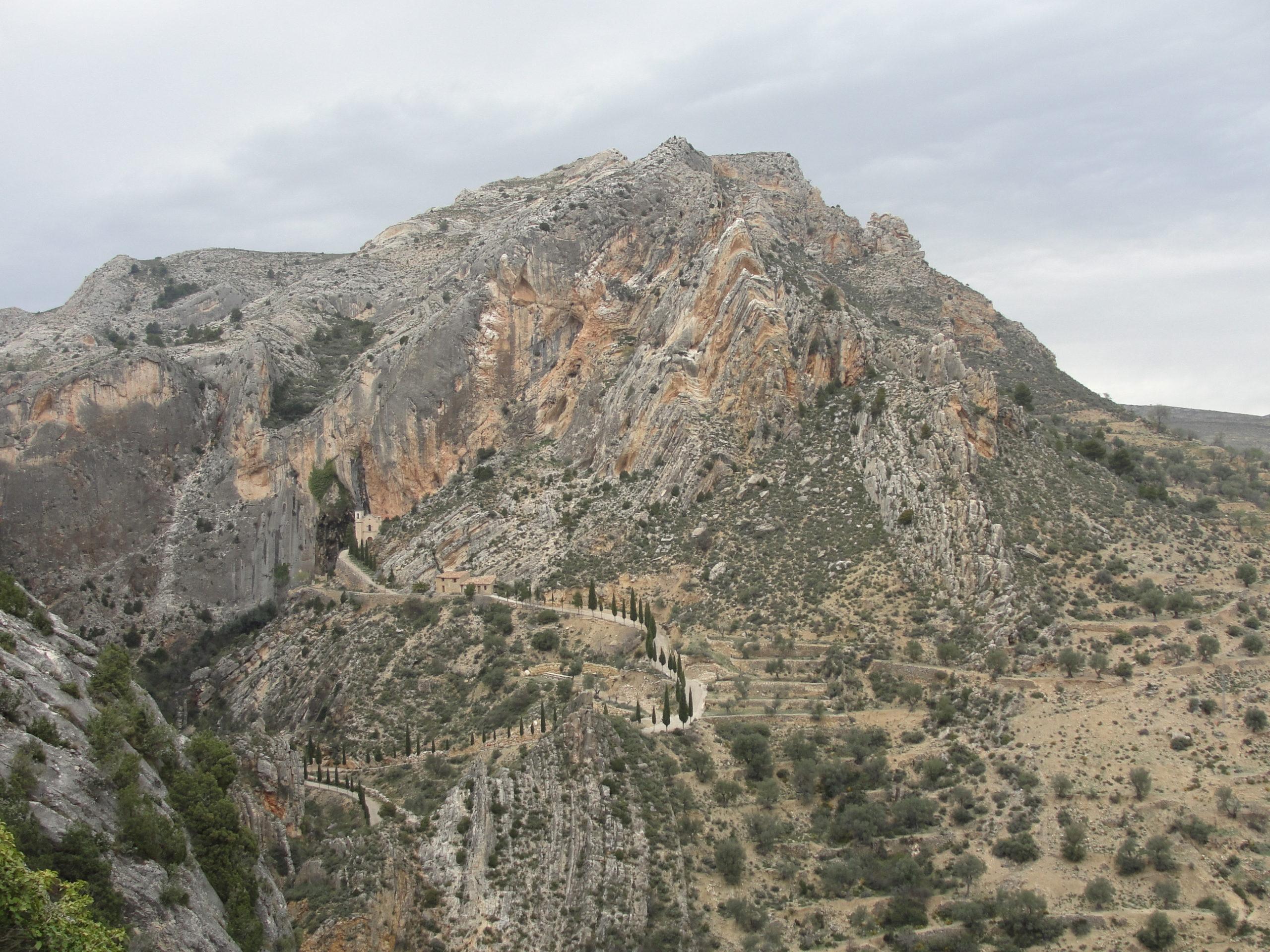 Paisaje de castellote Plataforma a favor de los paisajes de teruel
