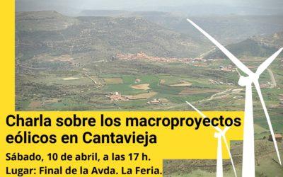 Charla sobre los macroproyectos eólicos en Cantavieja