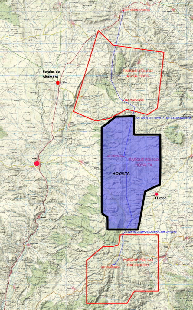 Mapa Hoyalta