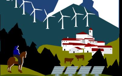Turismo eólico y solar en Teruel