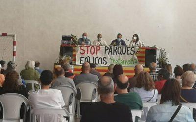 Audio de la charla sobre centrales eólicas en Valjunquera