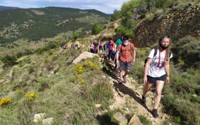 Éxito de la marcha a favor de los paisajes de Teruel