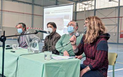 Audio de la charla sobre macroproyectos de renovables en Muel