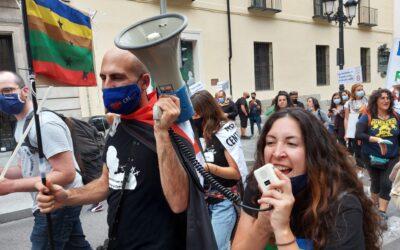 Manifestación Aliente: renovables SÍ, pero NO ASÍ.